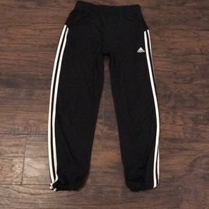Adidas XS Cropped Athletic Pants
